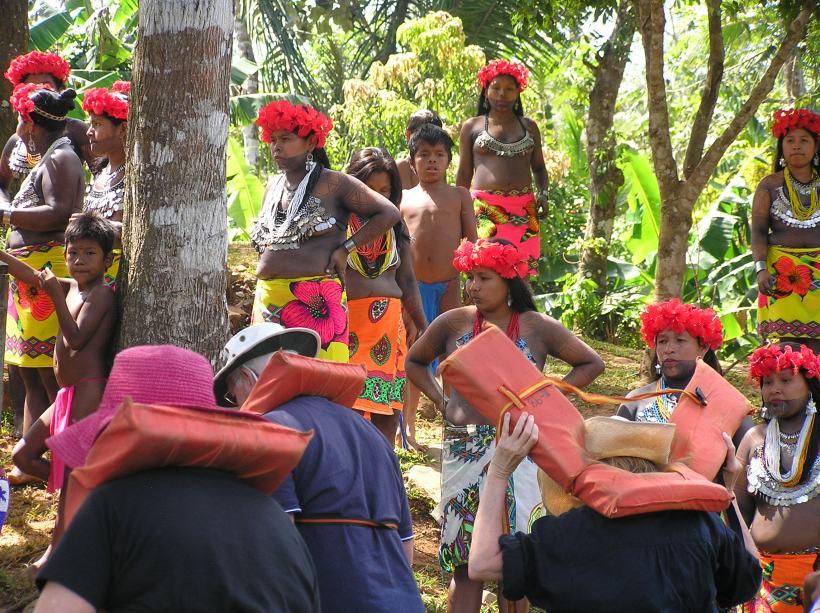"""""""Demonstration"""" Embera Village Tour"""