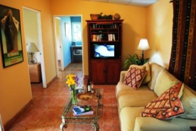 Casita Rental Living Room