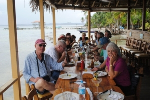 Panama Relocation Tour Lunch Bocas del Toro