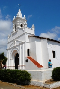 Spanish Colonial church in Parita, Azuero Peninsula