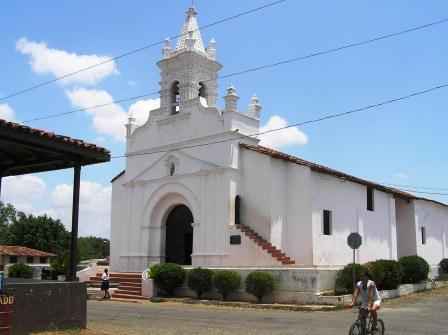 Spanish colonial church in Parita