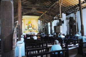 Panama Relocation Tour Day 2 - Colonial Spanish Church in Parita