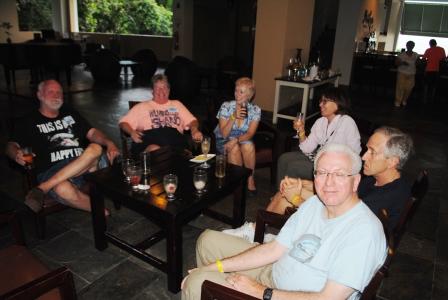 Panama Relocation Tour Kicking Back Sheraton Bijao Day 1