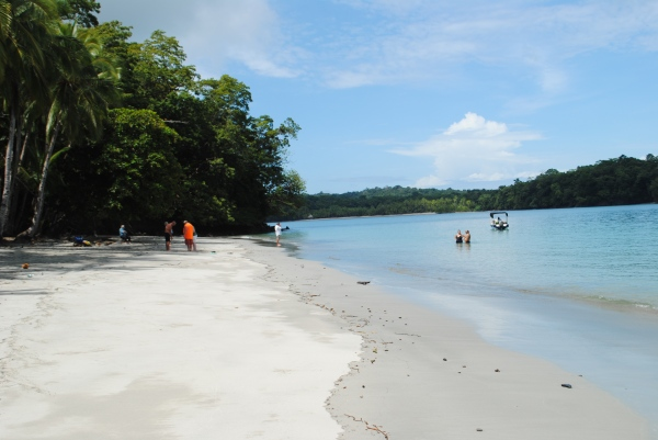 Isla Bolanas just offshore in Chiriqui Marine National Park