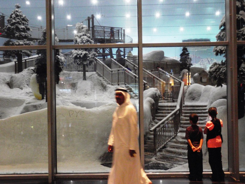 What's next, a ski resort like this one in a mall in Dubai?
