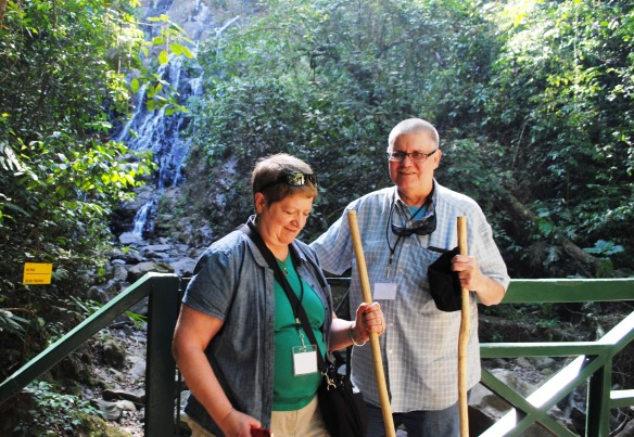 """This is a relocation tour, not a """"tourist"""" tour, although while checking out El Valle, we did stop to explore a rain forest on a beautiful day with no rain."""