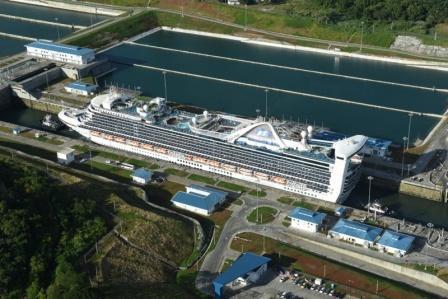 2018 Caribbean Princess Agua Clara locks